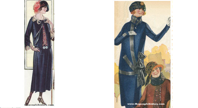 2 Ladies Dress Examples From 1923