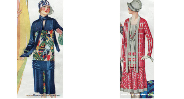 2 Ladies Dress Examples From 1926