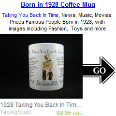 1928 Coffee Mug Birthday Gift