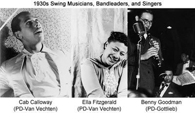 1930s Music History Including Thirties Styles Bands And Artists