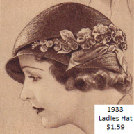 Ladies Hat From the 30's