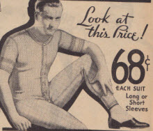 Mens 1 Piece Underwear Passion Killers From 1933