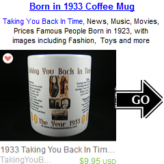 1933 Year In History Coffee Mug