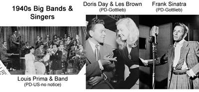 1940 S Music Played In The 40 S Bands Groups Singers