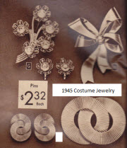 1945 Ladies Costume Jewelry