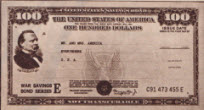 1945 $100 US War Bond