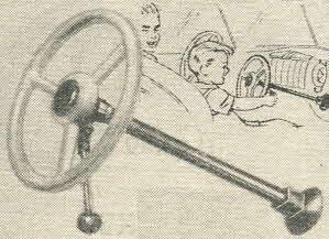 Vintage 1950s Deluxe Junior Steering Wheel