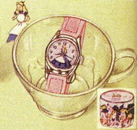 1950's Alice in Wonderland Watch