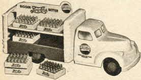 Fifties Vintage Pepsi Cola Truck