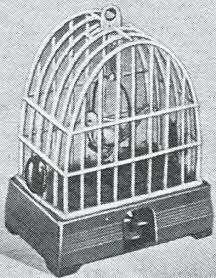 50s Tweedie Singing Bird in Cage