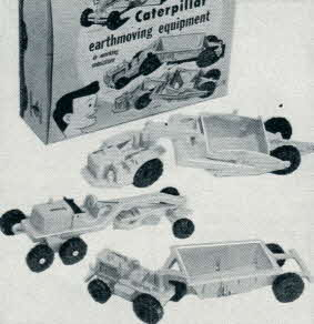 1950's Caterpillar Earthmoving Equipment