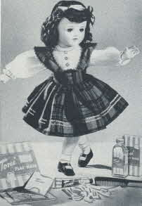 1950s Vintage Toni Doll