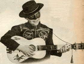 Zorro Official Guitar