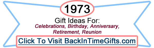 1973 Back In Time Gifts