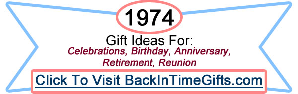 1974 Back In Time Gifts