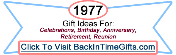 1977 Back In Time Gifts