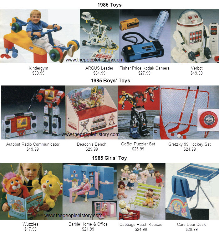 Kids Toys From 85