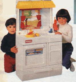 To be a kid again amanda talar for Playskool kitchen set