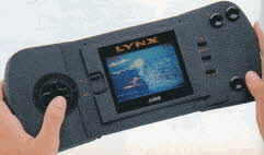 Atari Lynx Portable Color Entertainment System From The 1990s
