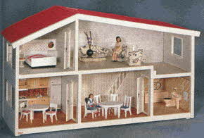 Lundby Dollhouse From The 1990s