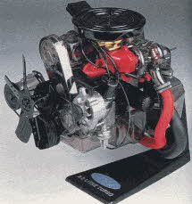 Visible Engine Model From The 1990s