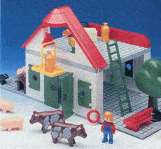 Playmobil Farmhouse Set From The 1990s