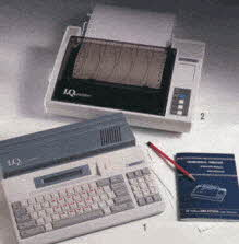 IQ Computer and IQ Printer From The 1990s