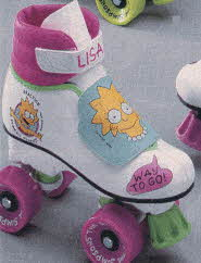 Lisa Simpson Roller Skates From The 1990s
