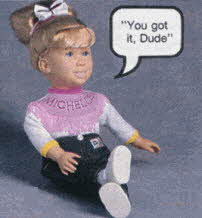 Full House Michelle Doll From The 1990s