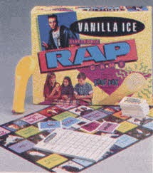 Vanilla Ice Electronic Rap Game From The 1990s