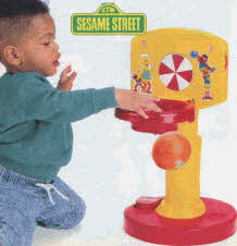 Sesame Street Basketball Hoop From The 1990s