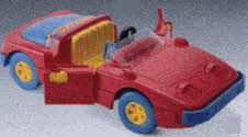 Hot Rod Car Toy From The 1990s