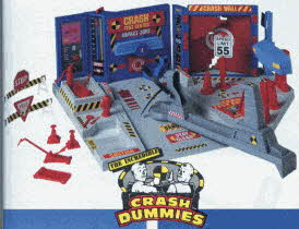Crash Dummies Crash Test Center From The 1990s