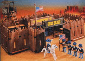 Fort Bravo Western Set Playmobil From The 1990s