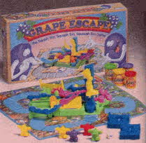 The Grape Escape Game From The 1990s