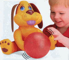 Catch n' Roll Puppy From The 1990s