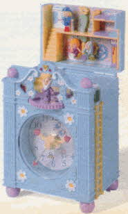 Vintage Funtime Polly Pocket Clock