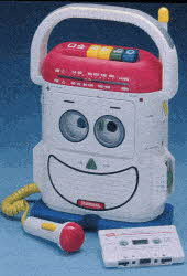 Rockin' Robot Cassette Player/Recorder From The 1990s