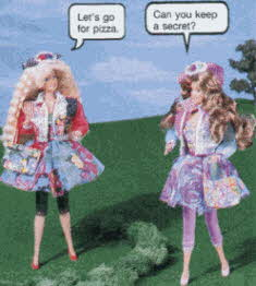 Teen Talk Barbie From The 1990s