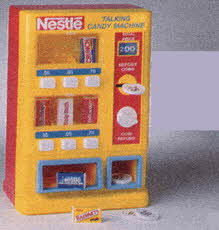 Nestle Talking Vending Machine From The 1990s