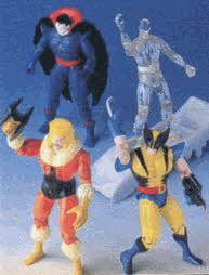 Vintage X-Men Action Figure Set