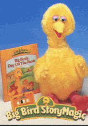 Sesame Street Big Bird Story Magic From The 1990s