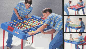 4-in-1 Game Table From The 1990s