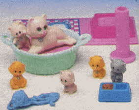 Littlest Pet Shop Kitten Set From The 1990s