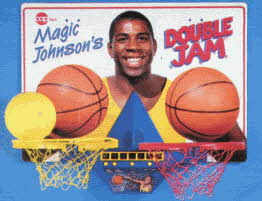 Magic Johnson's Double Jam Basketball From The 1990s