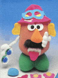 Soft Stuff Potato Head From The 1990s