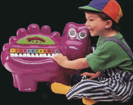 Pianosaurus From The 1990s