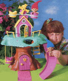 Treasure Troll Tree House From The 1990s