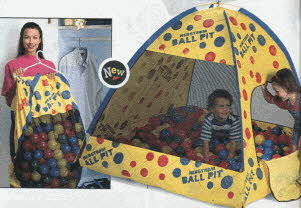 Ball Pit Tent From The 1990s