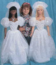 My Size Bride Barbie Doll From The 1990s